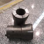 Pinza para curvadora de tubo