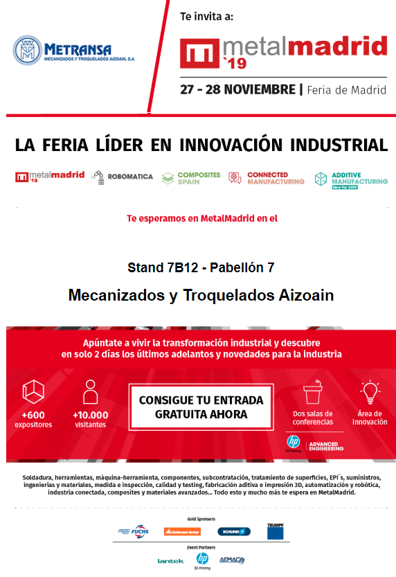 Feria Industrial Metalmadrid