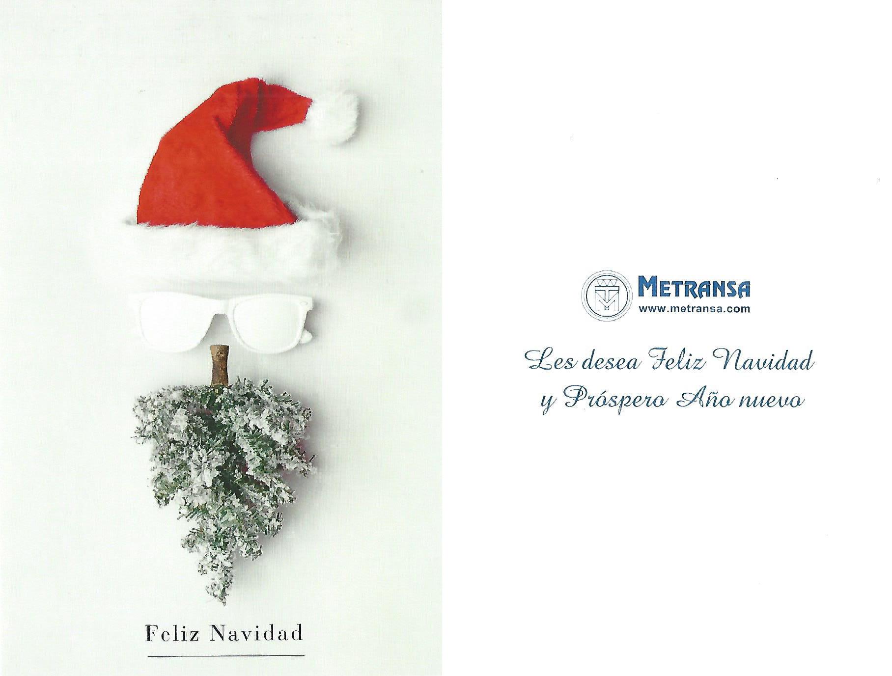 Felicitación Navidad Metransa